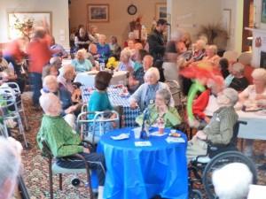 A full house for Oktoberfest