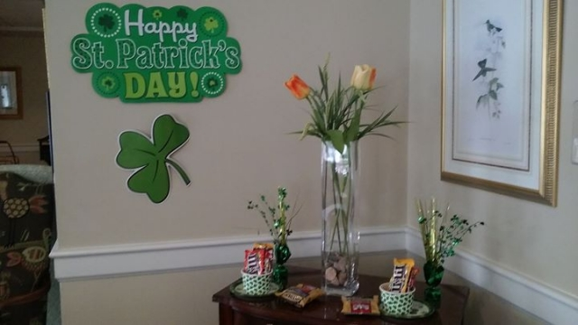 The decorations are up, the snacks are out, the beads are ready and the Irish ba