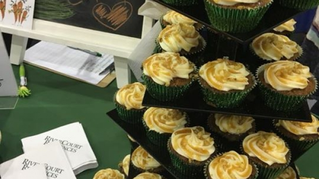 We are at the Taste of Nashoba with our delicious carrot cupcakes.  Stop by our